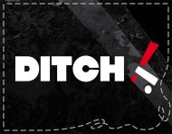 """Ditch"", a logotype, packaging and visual identity by messalyn (thumbnail)."