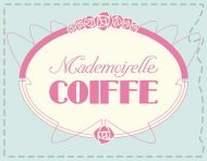"""Mademoiselle Coiffe"", an original logotype by messalyn (thumbnail)."