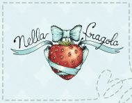 Nella Fragola, an original visual identity by messalyn (thumbnail).
