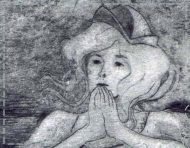 """La Mutinerie"", a original etching by messalyn (thumbnail)."