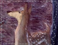 """Dandy Chasseur"", an original painting by messalyn (thumbnail)."
