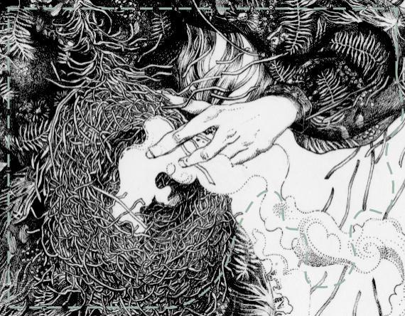thumbnail for La Femme de Paille, an illustration by messalyn