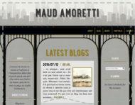"""francoisamoretti.com"", an original webdesign, visual identity and logotype by messalyn (thumbnail)."