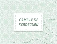 """camilledekerorguen.fr (Portfolio version 3.1)"", an original webdesign and visual identity by messalyn (thumbnail)."